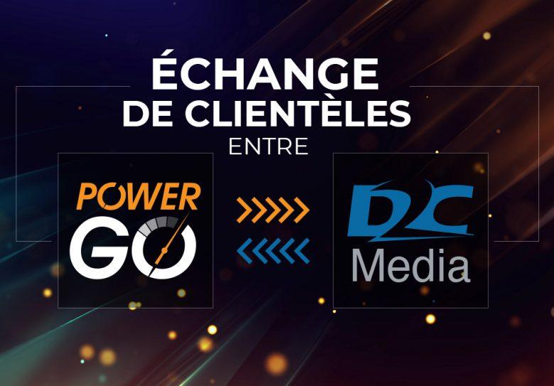 L'actualité Power Go – Entente avec D2C Media
